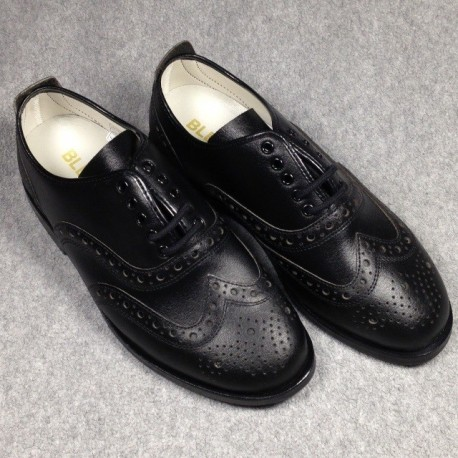 "Chaussures ""Charleston"" semelle cuir glissante"