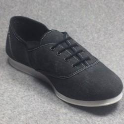 Chaussures Sneakers Oxford semelle cuir suédé