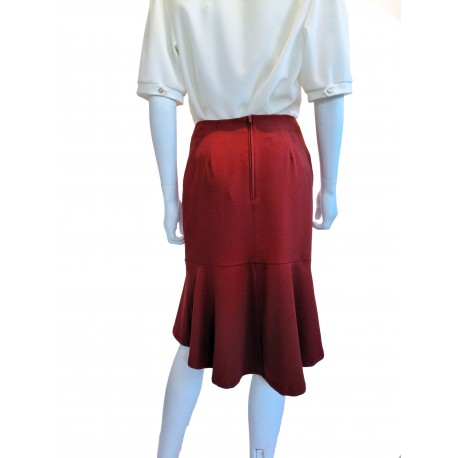 Derrière jupe Violetta couleur rouille