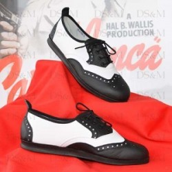 "Chaussures ""Lindy Hopper"" Cuir"