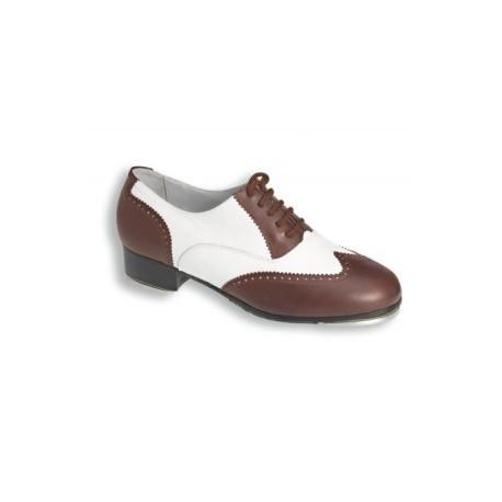 Chaussures de claquettes homme bicolore