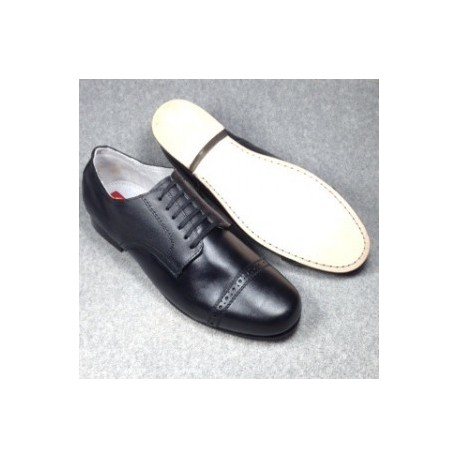1930's Black Captoe