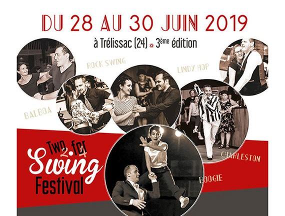 Two for Swing festival Trélissac