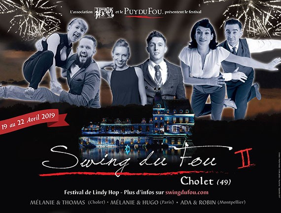 Swing du Fou Cholet du 19 au 22 avril
