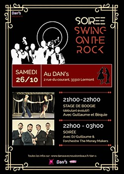 Soirée Swing on the Rock au Dan's